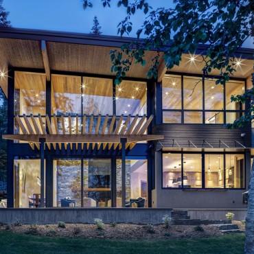 Whitefish Lake Modern Retreat